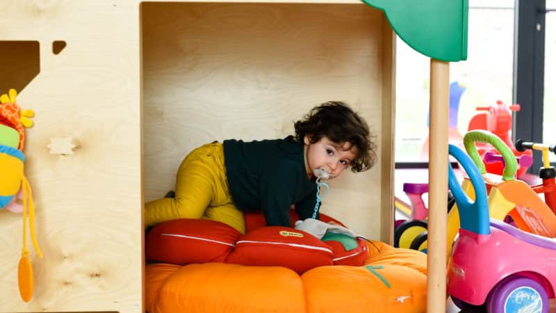Ook peuters kunnen bij KIDS terecht in het KIDSJE